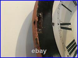 1879 SETH THOMAS WEIGHT DRIVEN NO. 2 REGULATOR WALL CLOCK, runs excl, walnut