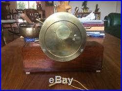 1947 Seth Thomas Mayflower-3 11j ships bell clock