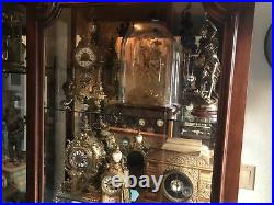 40 Antique Clocks Statue Swinger Crystal Regulator Skeleton French Seth Thomas +