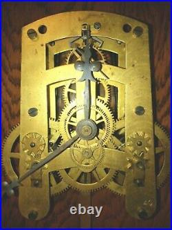 #478 Antique Seth Thomas Umbria Wall Clock. To Restore