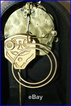 ANTIQUE SETH THOMAS CABINET SHELF MANTLE CLOCK-Totally! -Restored- TUDOR-1913
