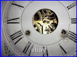 Antique 25 SETH THOMAS OGEE Connecticut Wall Mechanical Clock weight driven
