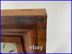 Antique 25 SETH THOMAS OGEE Plymouth Connecticut Wall Mantle Mechanical Clock