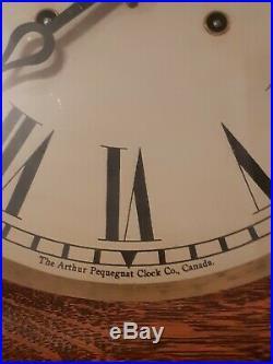 Antique Moncton Novelty clock CN Railroad