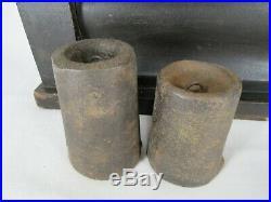 Antique SETH THOMAS OGEE CLOCK OG Shelf Mantel Pillar REVERSE PAINTED weights