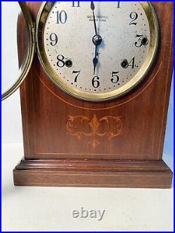 Antique SETH THOMAS clock SONORA 8 BELLS Inlaid