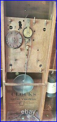 Antique Seth Thomas 1820's Shelf Clock