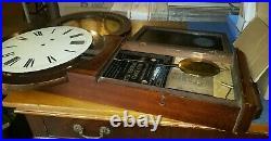 Antique Seth Thomas #1 Wall Clock For Parts Or Restoration