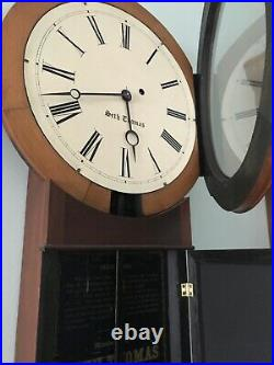 Antique Seth Thomas #2 Special Weight Driven Wall Clock