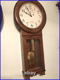 Antique Seth Thomas #2 Weight Driven Regulator Wall Clock