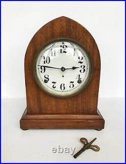 Antique Seth Thomas 8-Day Beehive Striking Mantel Clock 89AL Works & Running