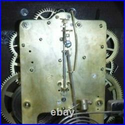 Antique Seth Thomas 8 Day Chime Key-wind Mahogany Dundee Bracket Clock Working