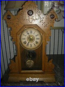 Antique Seth Thomas 8 day city series Cambridge clock working used