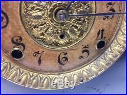 Antique Seth Thomas Adamantine Black Mantel Mantle clock No 102