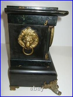 Antique Seth Thomas Adamantine Clock With Alarm 8-Day, Time/Strike Rare
