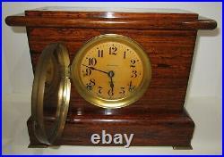 Antique Seth Thomas Adamantine Mantel Clock 8-Day, Time/Strike