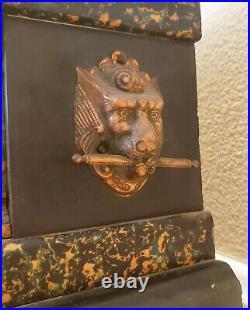 Antique Seth Thomas Adamantine Mantle Clock 1890c