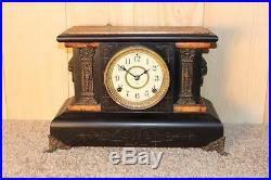 Antique Seth Thomas Adamantine Mantle Clock Made in 1901