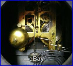 Antique Seth Thomas Adamantine Mantle Clock With Lions Heads Running C. 1908