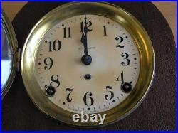 Antique Seth Thomas Chime Clock Circa 1915 Time Movement 89AD 12.5