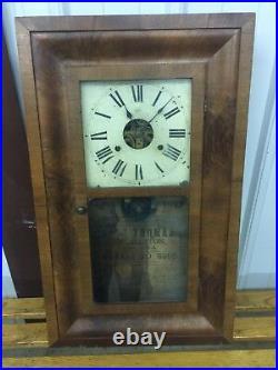 Antique Seth Thomas Clock From Conn, USA 1800s