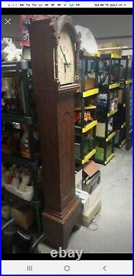 Antique Seth Thomas Clock With Movment Early 1800s Plymouth Grandfather Clock