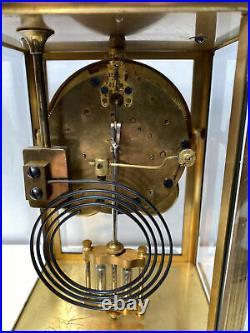 Antique Seth Thomas Crystal Regulator Clock