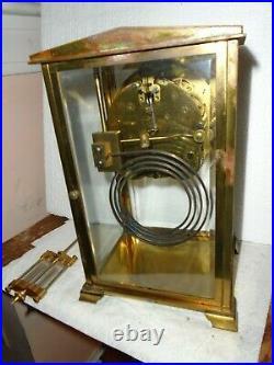 Antique-Seth Thomas-Crystal Regulator Clock-Ca. 1910-To Restore-#E424