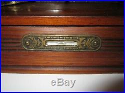 Antique Seth Thomas Kitchen Alarm Clock, 8-Day, Time/Strike