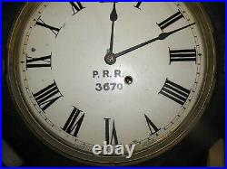 Antique Seth Thomas Long Drop P. R. R. Pennsylvania Railroad Regulator Clock