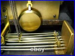 Antique Seth Thomas Mahogany Camelback Mantel Clock with Westminster Chimes