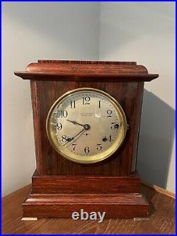 Antique Seth Thomas Mantle Clock No. 495 / Sonora Chime