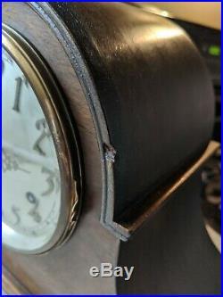 Antique Seth Thomas Mantle Shelf Clock Tambour Original