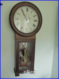 Antique Seth Thomas No. 2 Regulator wall clock