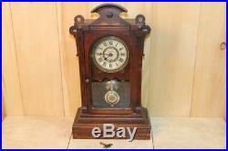Antique Seth Thomas Norfolk V. P. City Series Clock 1878 Serviced & Running