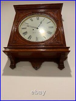 Antique Seth Thomas Office No. 5 Wall Clock c. 1900
