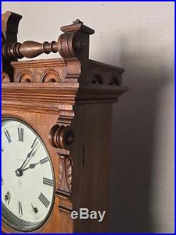 Antique Seth Thomas Parlor Calendar No 11-1876 Antique Clock In Great Condition