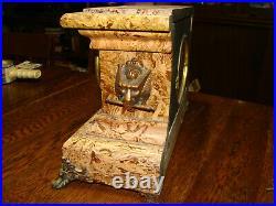 Antique Seth Thomas Rare PATMOS Adamantine Mantle Clock