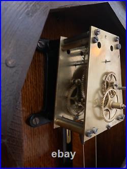Antique Seth Thomas Regulator No. 2 Wall Clock c. 1921