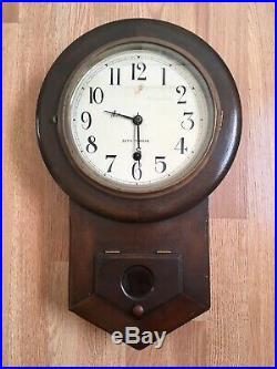 Antique Seth Thomas Regulator Wall Clock