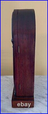 Antique Seth Thomas Reverse Painted 8 Day Mantel Clock. Circa post 1864