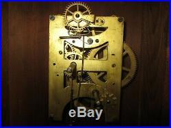 Antique Seth Thomas Schoolhouse 8-Day Time Wall Regulator Clock (Store #3)