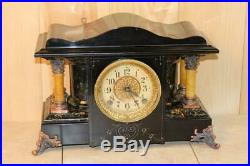 Antique Seth Thomas Shasta Adamantine Mantle Clock Serviced C. 1905