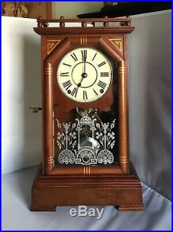 Antique Seth Thomas Shelf Clock Excellent Condition