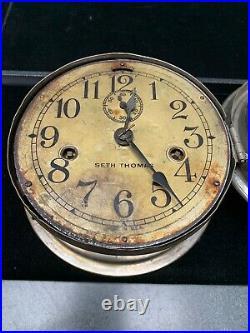 Antique Seth Thomas Ship Clock
