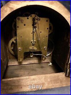 Antique Seth Thomas Tambour Mantel Clock 89AL For Parts/Repair 1910-1920