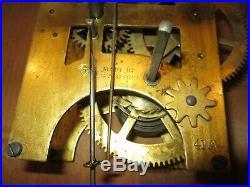 Antique Seth Thomas Time Wall Regulator Clock 8-Day (Store #7)