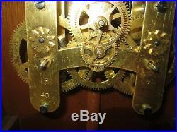 Antique Seth Thomas Umbria Wall Regulator Clock 14-day