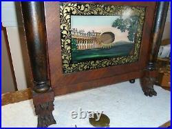 Antique-Seth Thomas-Wooden Works-Shelf Clock-Ca. 1820s-To Restore-#E341