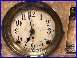 Antique Seth Thomas adamantine Mantle clock Nice Clock